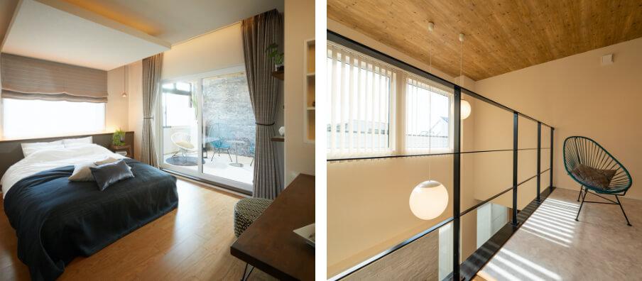 中高級価格帯のソファやダイニングセット、ベッドなどの大型家具が人気です。