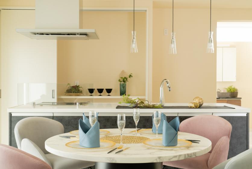 家族で憩いの場に最適なキッチン